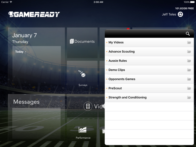 GamePlan iPad App for NFL NHL and MLB Players Coaching